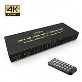 Матричный переключатель HDMI ENKLEN 6x2 4K 3D