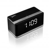 Bluetooth аудиоколонка Musky DY-27 с часами (FM/MicroSD/AUX/USB)