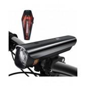 Набор велосипедных аккумуляторных USB фонарей FrontTech