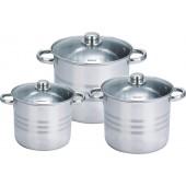 Набор посуды из 3 кастрюль Royalty Line RL-SP2