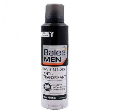Мужской дезодорант спрей Balea Invisible 200мл