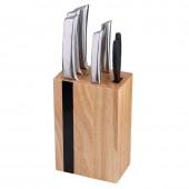 Набор ножей Bergner Keops BG-4176-MM 6 пр. c колодой