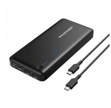 Портативное зарядное устройство УМБ RavPower Xtreme 26800mAh PD Portable Charger Black (RP-PB058)