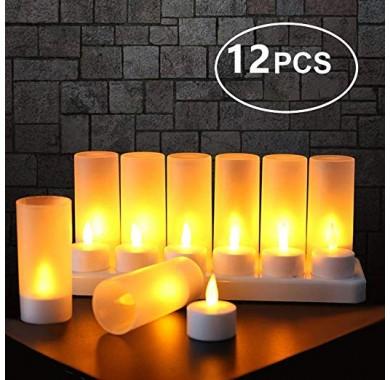 Набор светодиодных свечей 12шт.
