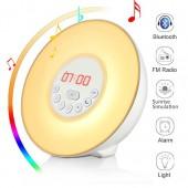 Светодиодный цифровой будильник с беспроводным Bluetooth-динамиком
