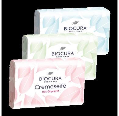 Biocura Creme Seife mit Glycerin Крем-Мыло c глицерином 150г