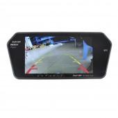 Зеркало заднего вида автомобиля 7 дюймов Full HD с сенсорным экраном