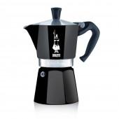 Гейзерная кофеварка Bialetti Moka Express Black