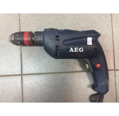 Ударная дрель AEG SBE 570R (б/у)