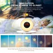 Цифровые часы будильник CR2032