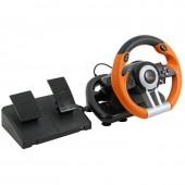Руль игровой с педалями drift O.Z. racing wheel