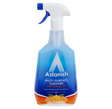 Универсальный очиститель с маслом апельсина Astonish 750 мл  Milti-surface cleaner