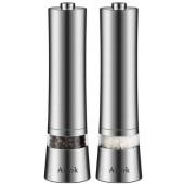 Электрические мельницы для соли и перца Aicok EB834 Silver