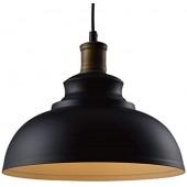 Подвесной металлический светильник Baycheer Black