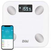 Цифровые весы DIKI B01LNSFJXK Body Fat с приложением для iOS и Android