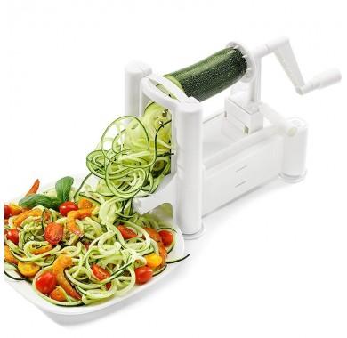 Овощной спирализатор Green Kitchen White с 3 лезвиями