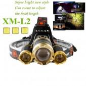 Светодиодный налобный фонарь CREE XML-L2
