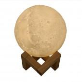 Ультразвуковой увлажнитель воздуха 3D Луна Moon YQ-008