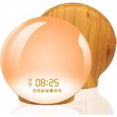 Светодиодный цифровой будильник Coulax Wake Up Light