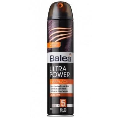 Лак для волос Balea Ultra Power # 5, ультра сильная фиксация