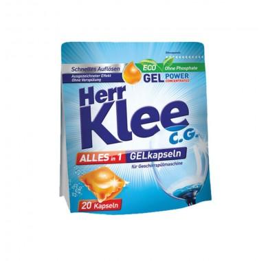 Гель-капсулы для посудомоечной машины Herr Klee All in 1
