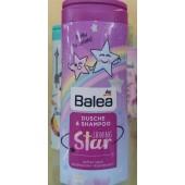 Детский гель для душа + Шампунь Balea Shower & Shampoo Shining - Star 300 мл