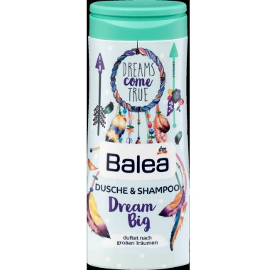 Гель для душа + шампунь Balea Dream Big