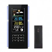 Метеостанция WEATHER STATION ТС-7 Black