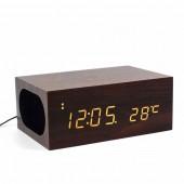 Часы деревянные X5 QI