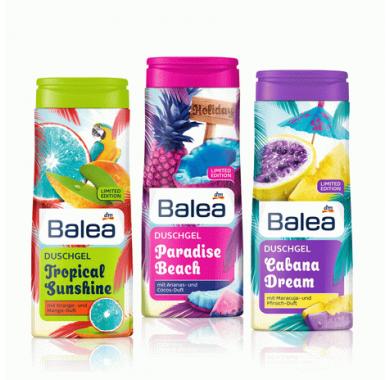 Гель для душа Balea Paradise Beach 300 ml.