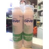 Гель для бритья для чувствительной кожи Clever, 200 мл